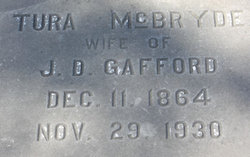Veturia Blanche Tura <i>McBryde</i> Gafford