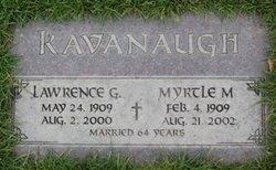 Myrtle M Kavanaugh