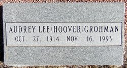 Audrey Lee <i>Rowley</i> Grohman