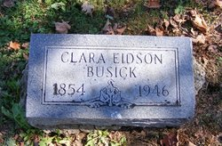 Clara <i>Eidson</i> Busick