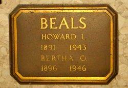 Bertha Ophie <i>Nelson</i> Beals