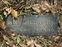 Shawn Christian Lewis