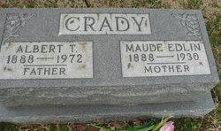 Maude <i>Edlin</i> Crady