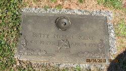Betty Ruthel <i>Littleton</i> Nixon