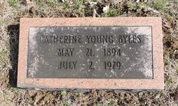 Catherine <i>Young</i> Byles