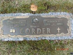 Thomas A Corder