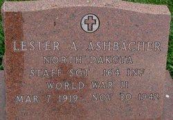 Sgt Lester A Ashbacher