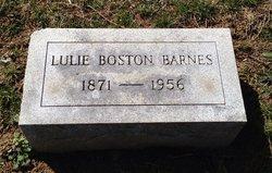 Lulie <i>Boston</i> Barnes