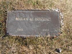 Beulah M <i>Balmoos</i> Dunning