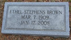 Ethel <i>Stephens</i> Brown