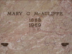 Mary Gertrude <i>Forbes</i> McAuliffe