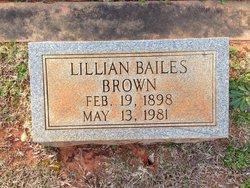 Lillian <i>Bailes</i> Brown