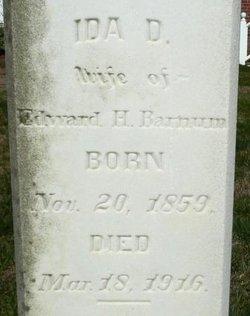 Ida D Barnum