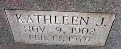 Kathleen J Bell