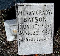 Henry Grady Batson