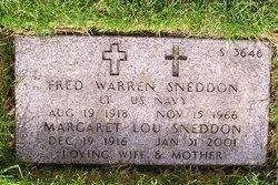 Fred Warren Sneddon