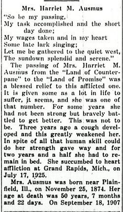 Harriet M. <i>Norton</i> Ausmus