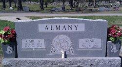 Annie P. <i>Pruitt</i> Almany