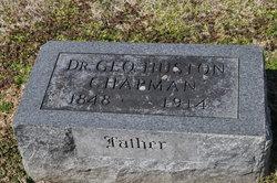 Dr George Huston Chapman