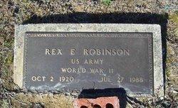 Rex E Robinson