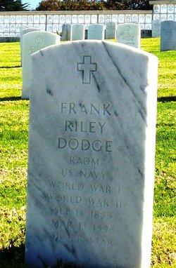 Adm Frank Riley Dodge