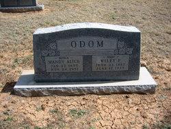 Mandy Alice <i>Williams</i> Odom