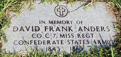 Pvt David Frank Anders