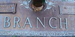 Mary Ann <i>Parker</i> Branch