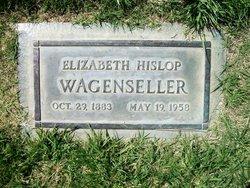 Elizabeth <i>Hislop</i> Wagenseller