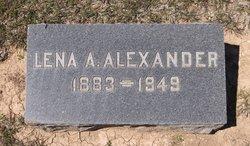 Lena Alice <i>Bigham</i> Alexander