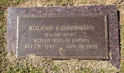 Roland B. Lefty Davidson