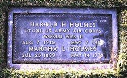Harold H Holmes