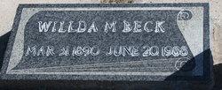 Wilda <i>Maycock</i> Beck