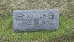 Sarah Elizabeth <i>Poe</i> Britton