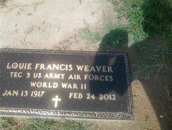 Louie Francis Weaver