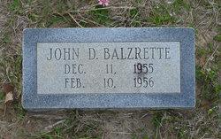 John D Balzrette