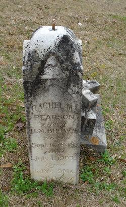 Rachel M <i>Pearson</i> Brown