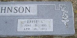 Effie LaUna <i>Jones</i> Johnson