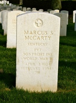 Marcus S McCarty
