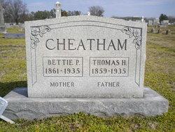 Bettie P. <i>Moss</i> Cheatham
