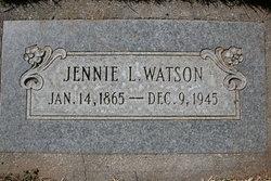 Jennie L <i>Curtis</i> Watson