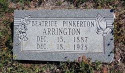 Beatrice <i>Pinkerton</i> Arrington
