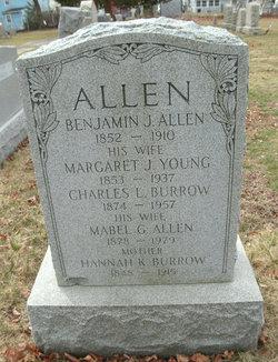 Margaret J <i>Young</i> Allen