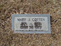 Mary <i>Jourdan</i> Cotten