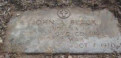 John A Black