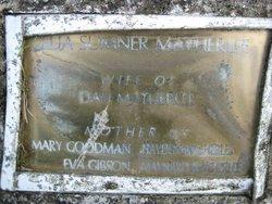 Celia Jane <i>Sumner</i> Matherlee