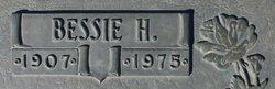 Bessie H Bobo