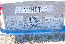 Hazel <i>Medlin</i> Barnette