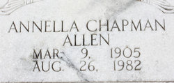 Annella <i>Chapman</i> Allen
