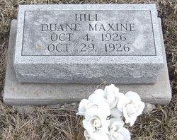 Duane Maxine Hill